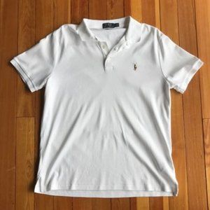Ralph Lauren Polo White Large Polo Shirt